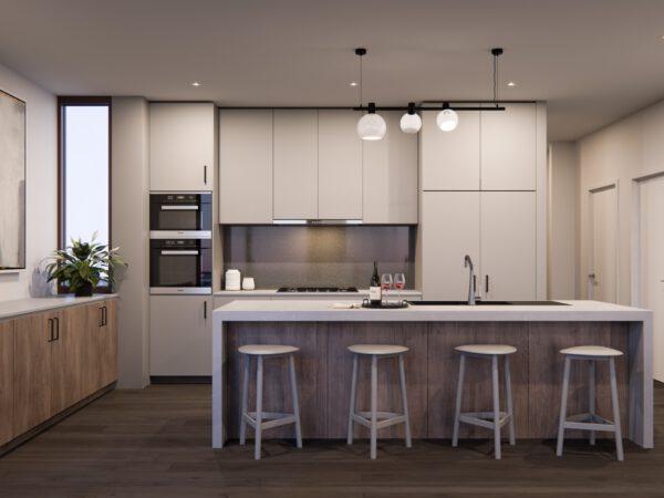 Gallery House - 3 Bed Kitchen (Dark Contemporary)