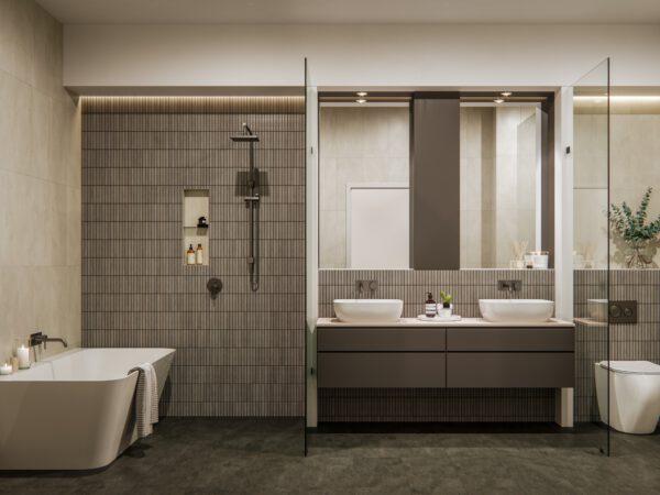 Gallery House - Bathroom (Soft Industrial)